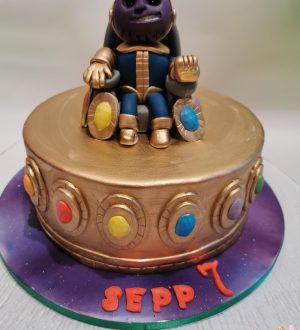 Thanos taart, super helden taart