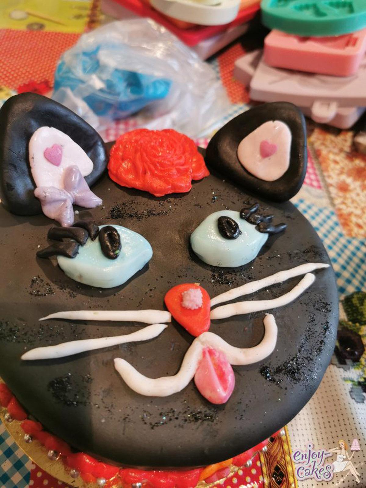 Kinderfeestje kattentaart
