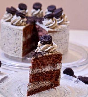 Chocolade Oreotaart