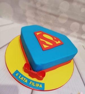 Supermantaart