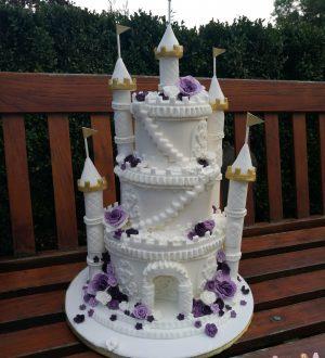 Kasteel bruidstaart