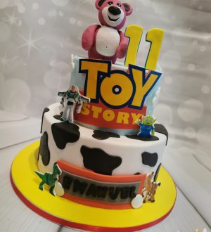Toystory taart