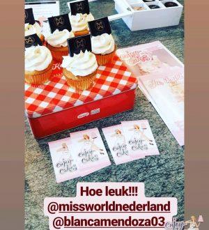 Cupcakes voor missworldnederland