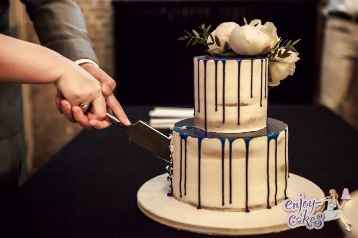 Lactose en glutenvrije bruidstaart