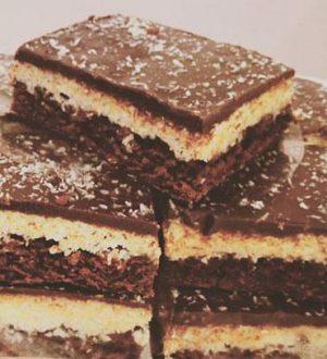 Brownie kokos bar