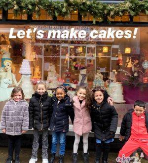 Kinderfeestje taarten maken