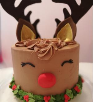 Rudolph kersttaart