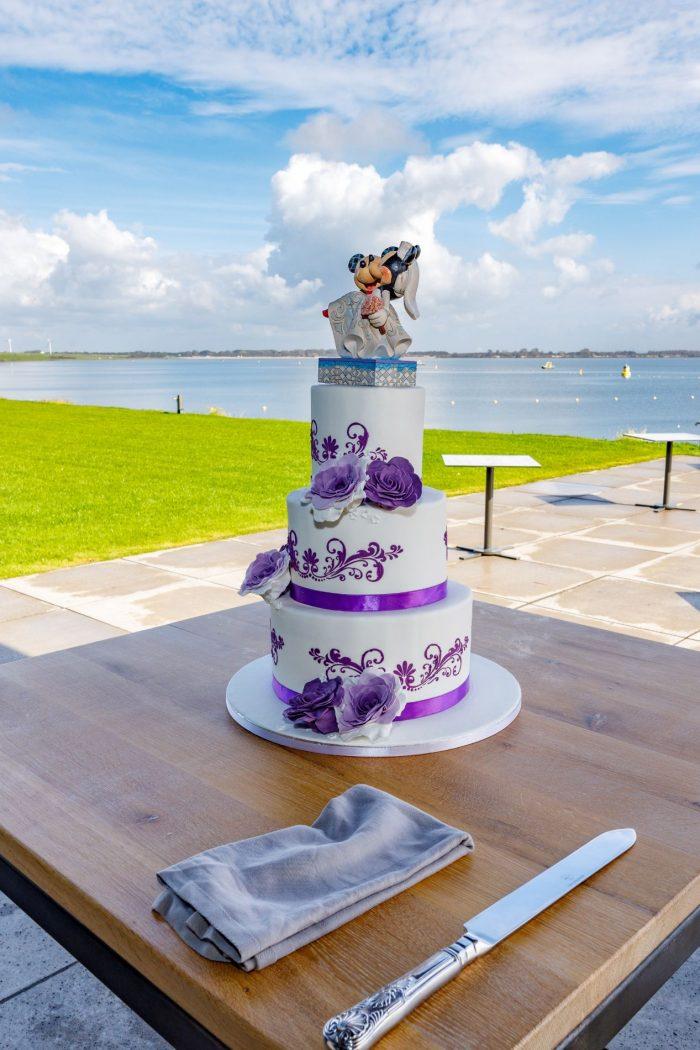Bruidstaart Purple