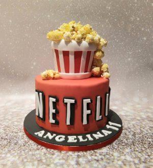 Netflix taart
