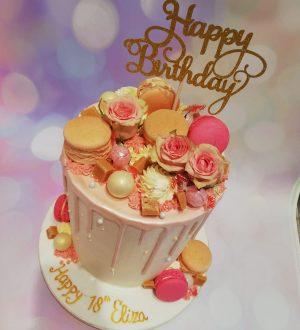 Pink Lady cake
