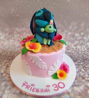 Stitch taart