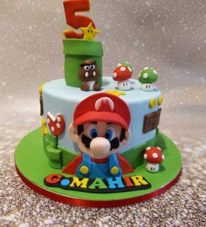 Mario Bross taart