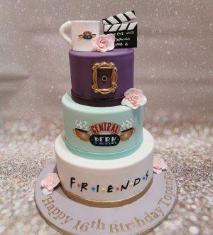 Friends taart