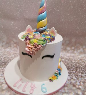 Unicorn Pastel taart