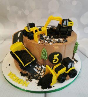 Graafmachine taart