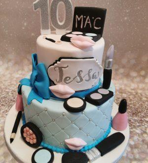 Makeup taart