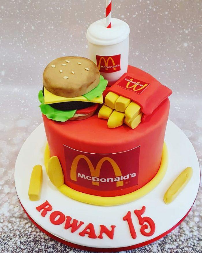 Mac Donalds taart