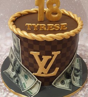Louis Vuitton Dollartaart
