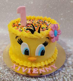 Tweety taart