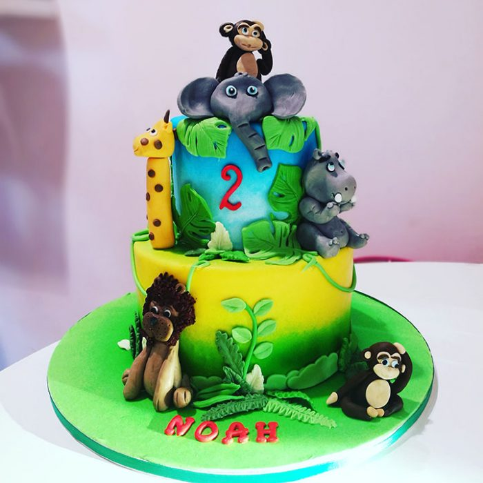 Jungle taart