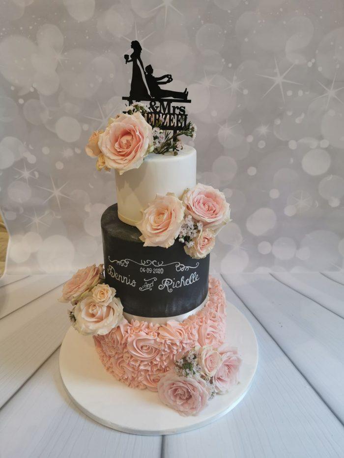 Chalk Weddingcake