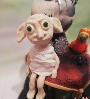 Super Harry Potter taart met Dobby