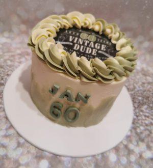 Vintage Dude cake