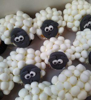 Schaapjes cupcakes