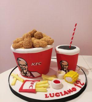 KFC taart