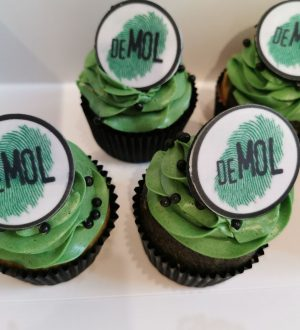 Wie is de Mol cupcakes
