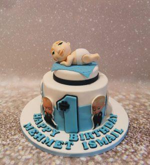 Baby Boss taart