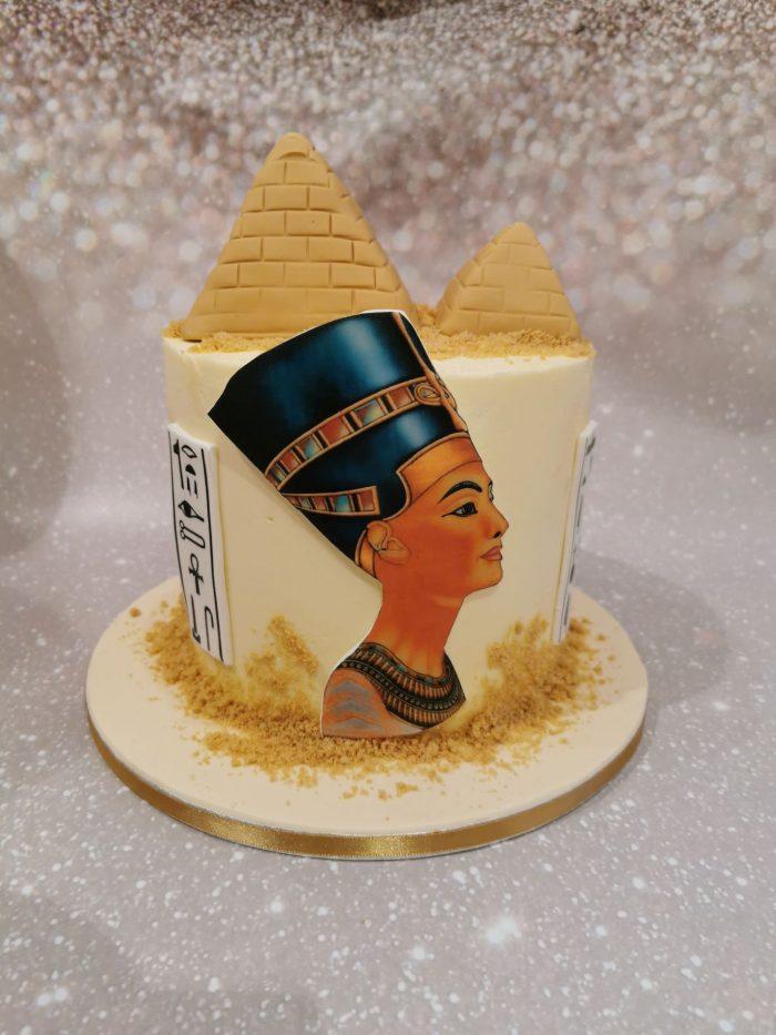 Egypte taart, piramidetaart