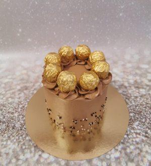 Ferrero Rocher Chocolade Taart