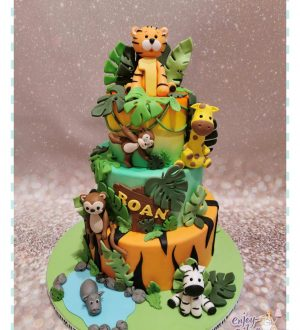 Jungle taart luxe