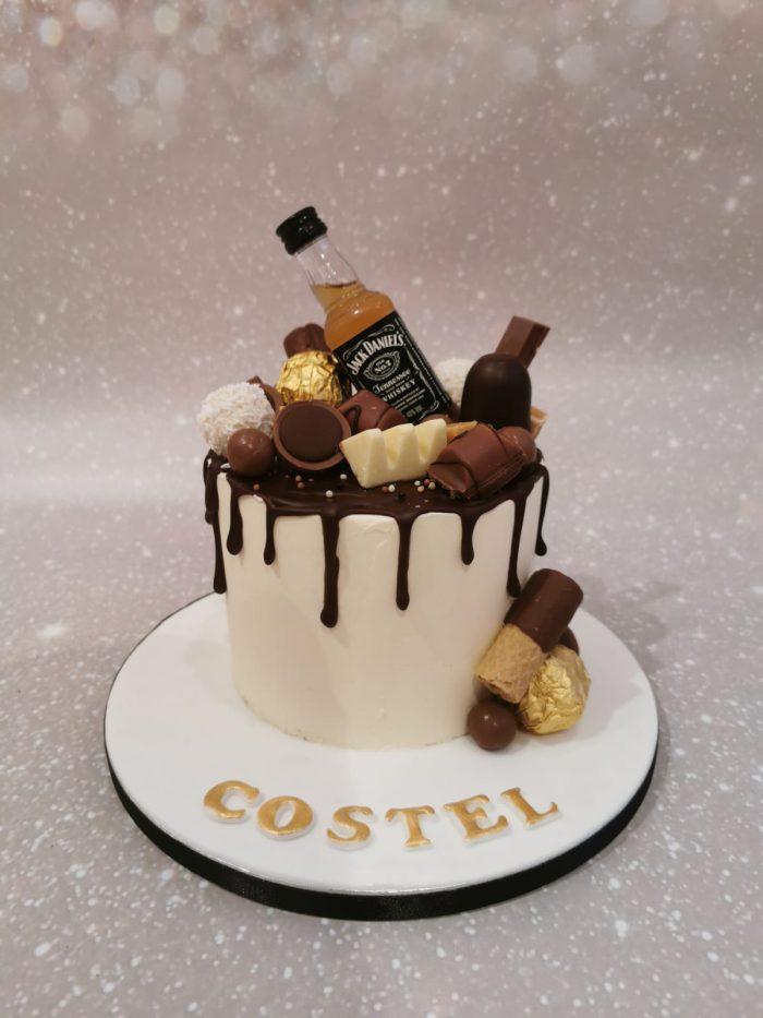 Chocolade Whiskey taart