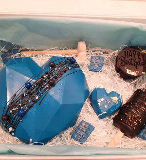 Breakable heart blauw