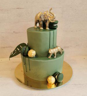 Jungle gold cake