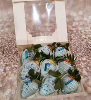 chocolade aardbeien box