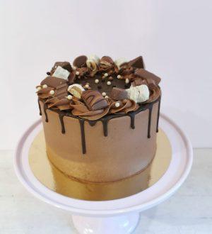 chocoladetruffel taart