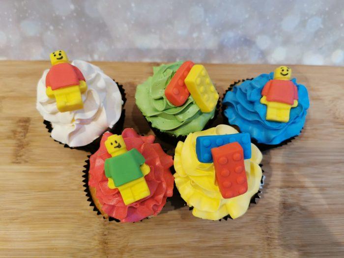 lego cupcakes