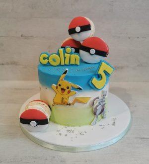 Pokemon macaron taart