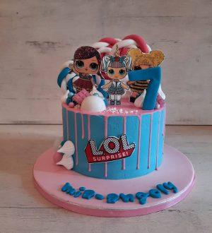 Lol lolly taart