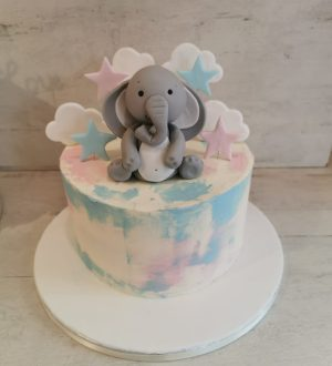 Baby olifant taart