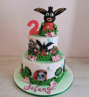 Bing konijn taart