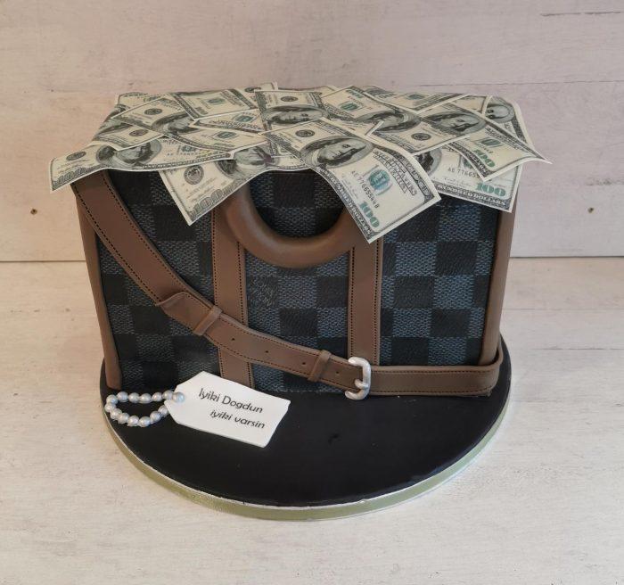 Louis Vuitton tas taart