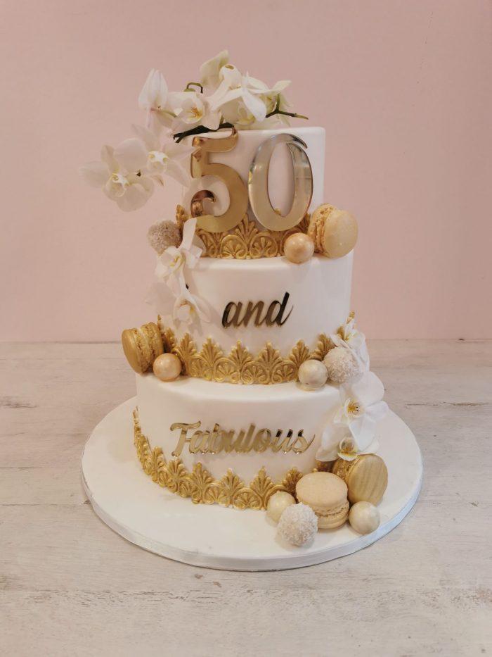 50 and fabulous cake